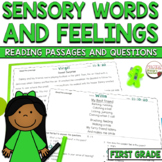Sensory Words and Feelings RL.1.4