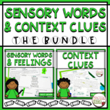Sensory Words and Feelings and Context Clues BUNDLE