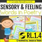 Sensory Words and Feelings in Poetry 1st Grade RL.1.4 - Digital Learning Links