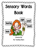 Sensory Words book