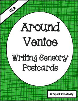 Sensory Writing Activity: 6 Venice Postcard Prompts