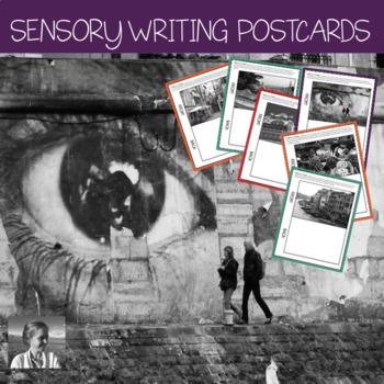 Sensory Writing Activity: European Tour Postcards