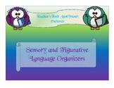 Sensory and Figurative Language Graphic Organizers