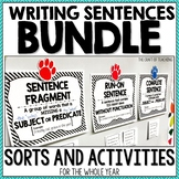 Sentence Activities Bundle