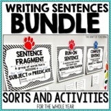Sentence Activities Bundle