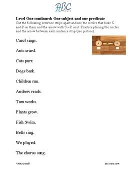 Sentence Analysis Kit