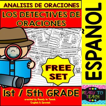 Sentence Analysis - Spanish - Free Set