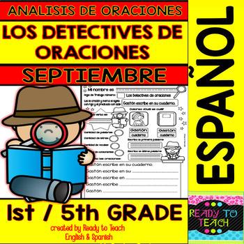 Sentence Analysis - Spanish - September Set