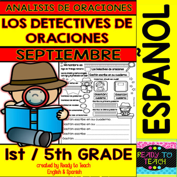 Sentence Analysis - Spanish - September Set