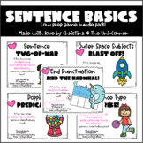 Sentence Basics Game Pack