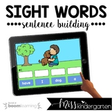 Sentence Boom Cards™ for Distance Learning | Sentence Building