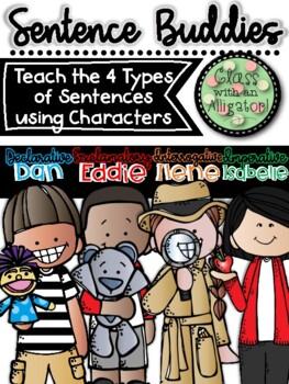 Sentence Buddies to Teach the Four Types of Sentences (Pos