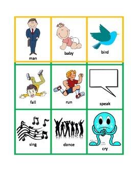 Sentence Builder Cards