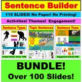Sentence Variety, PowerPoint Unit: BUNDLE