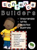 Sentence Builder - Unscramble the Sentence -