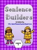 Sentence Builder Volume 2