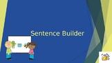 Sentence Builder (Word Order) Teaching PowerPoint