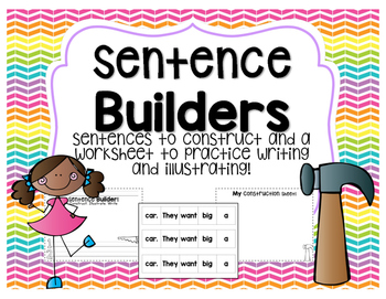 Sentence Builders!
