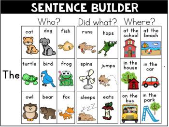 Sentence Builders
