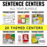 Sentence Building Activity Bundle