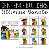 Sentence Builders Bundle: Writing, Language, & Comprehensi
