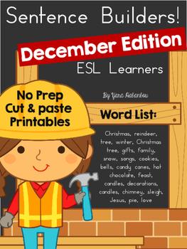 Sentence Builders December Edition