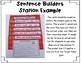 Sentence Builders SHORT O