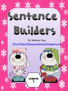 Sentence Builders Volume 1