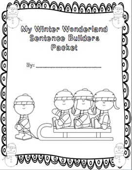 Sentence Builders Winter Edition