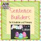 Sentence Builders for Articulation & Pronouns - Spring Bundle