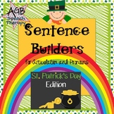 Sentence Builders for Articulation & Pronouns - St. Patric