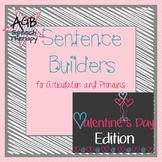 Sentence Builders for Articulation & Pronouns - Valentine'