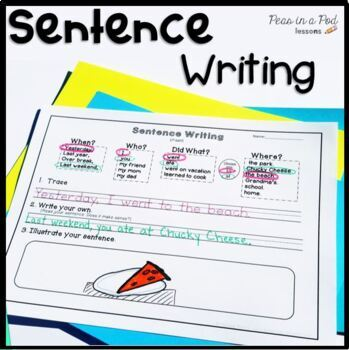 Sentence Building & Sentence Writing