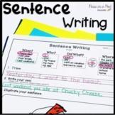 Writing Sentences Kindergarten ⭐ 1st Grade Summer Review
