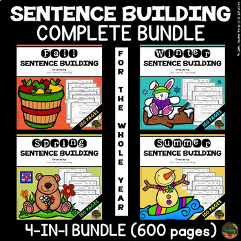 Sentence Completion Worksheets Teachers Pay Teachers