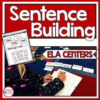 Sentence Building Literacy Centers