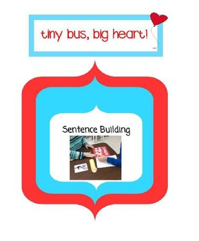 Sentence Building:  Action Photos and Visual Supports Pict
