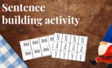 Sentence Building Activity - Collaborative (NO PREP)