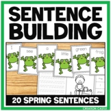 Sentence Building Activity for the Spring