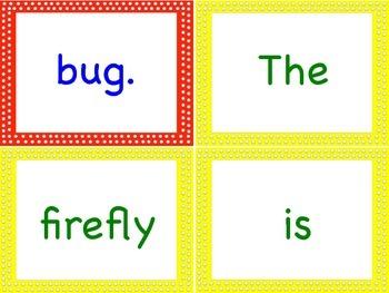 Sentence Building Buggy Bundle