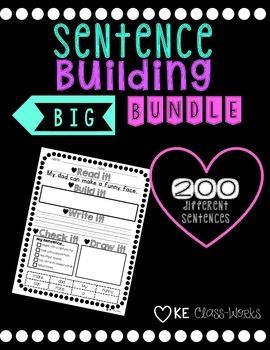 Sentence Building Bundle