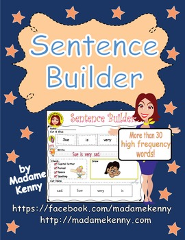Sentence Building Bundle Pack