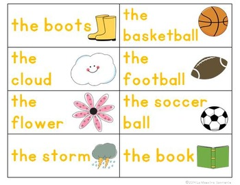 Writing: Sentence Building Cards (English)