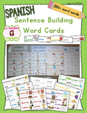 Writing: Sentence Building Cards (Spanish)
