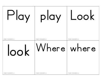 Reading Wonders Sentence Building Cards
