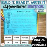 Sentence Building Center - Winter Edition