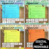 Sentence Building Center - BUNDLE -  print & digital - Google & Seesaw