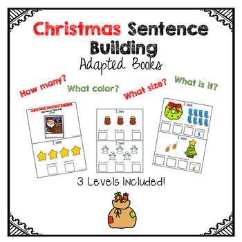 Sentence Building- Christmas