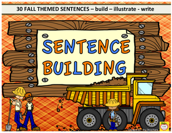 Sentence Building - Fall Theme