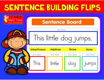 Sentence Building Flips